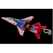 """USB накопитель истребитель МиГ 29 """"Стрижи""""  64Gb"""
