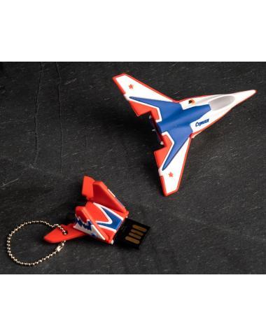 "Флешка-брелок истребитель МиГ 29 ""Стрижи"" на 32Gb"