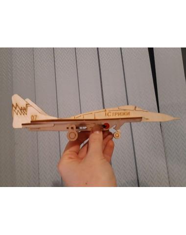 """Модель самолета """"Стрижи"""" для сборки"""