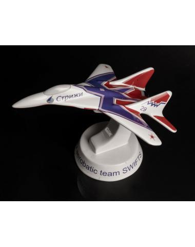 """Модель самолета МиГ 29 """"Стрижи"""" керамика"""