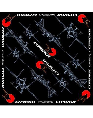 Бандана классическая с логотипом Стрижи