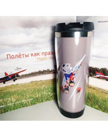 Термо-кружка МиГ-29 Стрижи