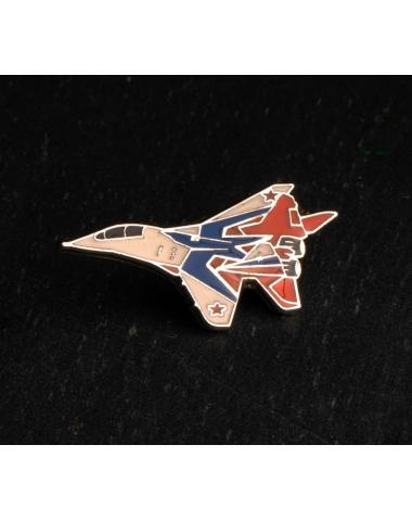 Значок 2D с изображением Миг-29 Стрижи