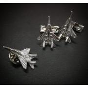 Значок серебро МиГ-29 Стрижи