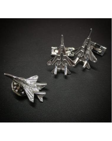 Серебрянные запонки МиГ-29 Стрижи