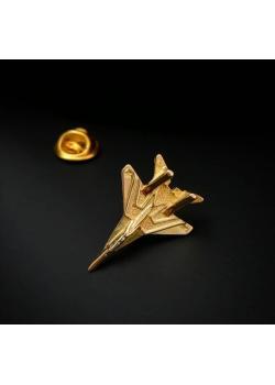 Значок позолоченое серебро МиГ-29 Стрижи