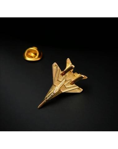 Позолоченный серебрянный значок МиГ-29 Стрижи